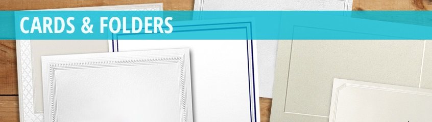 Cards & Folders - Classic Crest Paper, Cards, and Envelopes | Announcement Converters