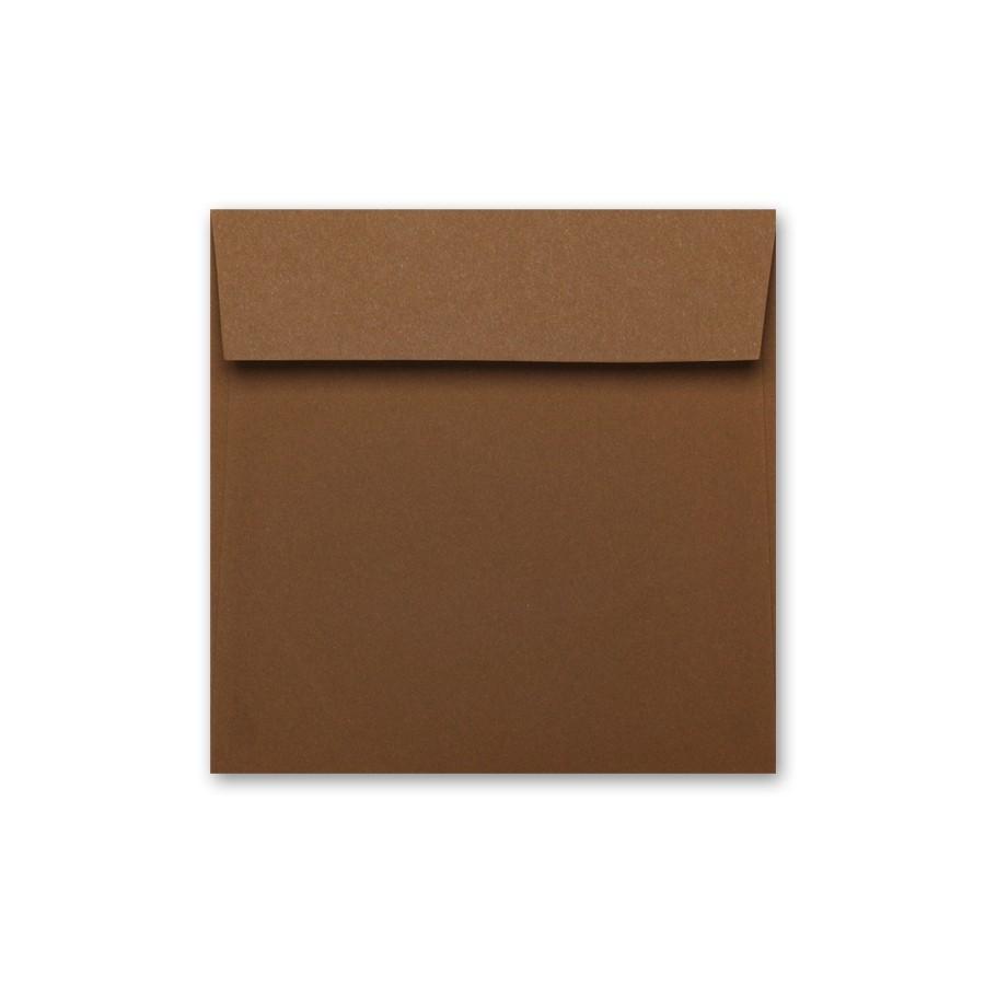 French Speckletone Brown 7.5 Square Envelope