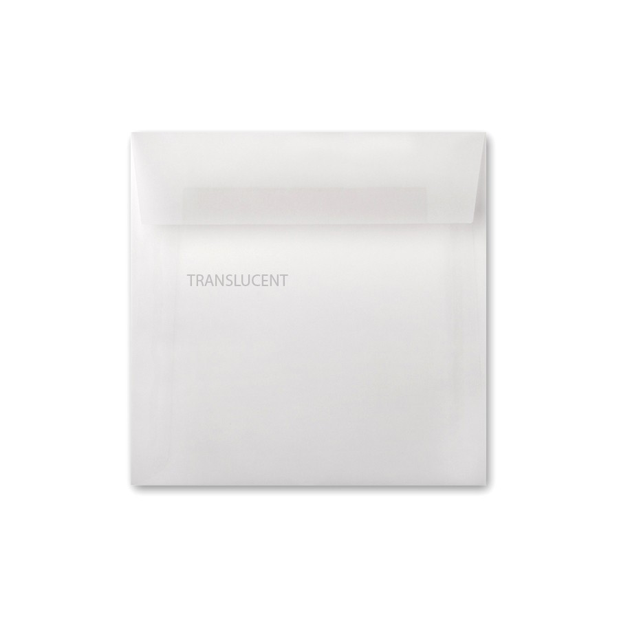 Neenah Clearfold Clear Translucent (frosted) 7.5 Square Envelope