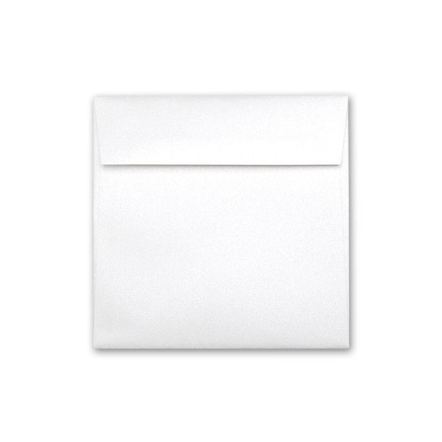 Neenah Esse Pearlized White 7.5 Square Envelope