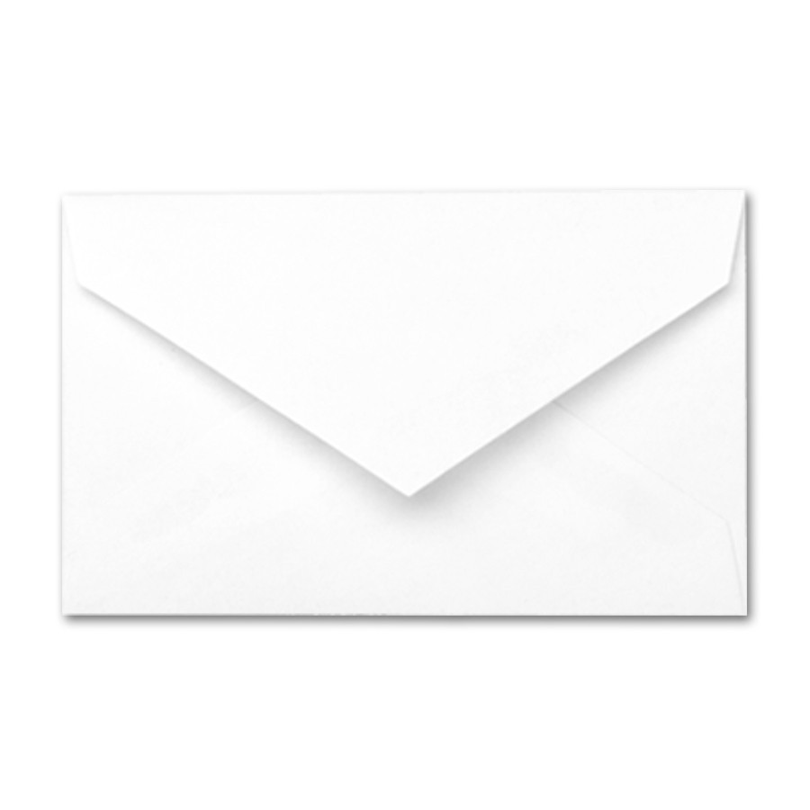 White Wove Gift Card Envelope
