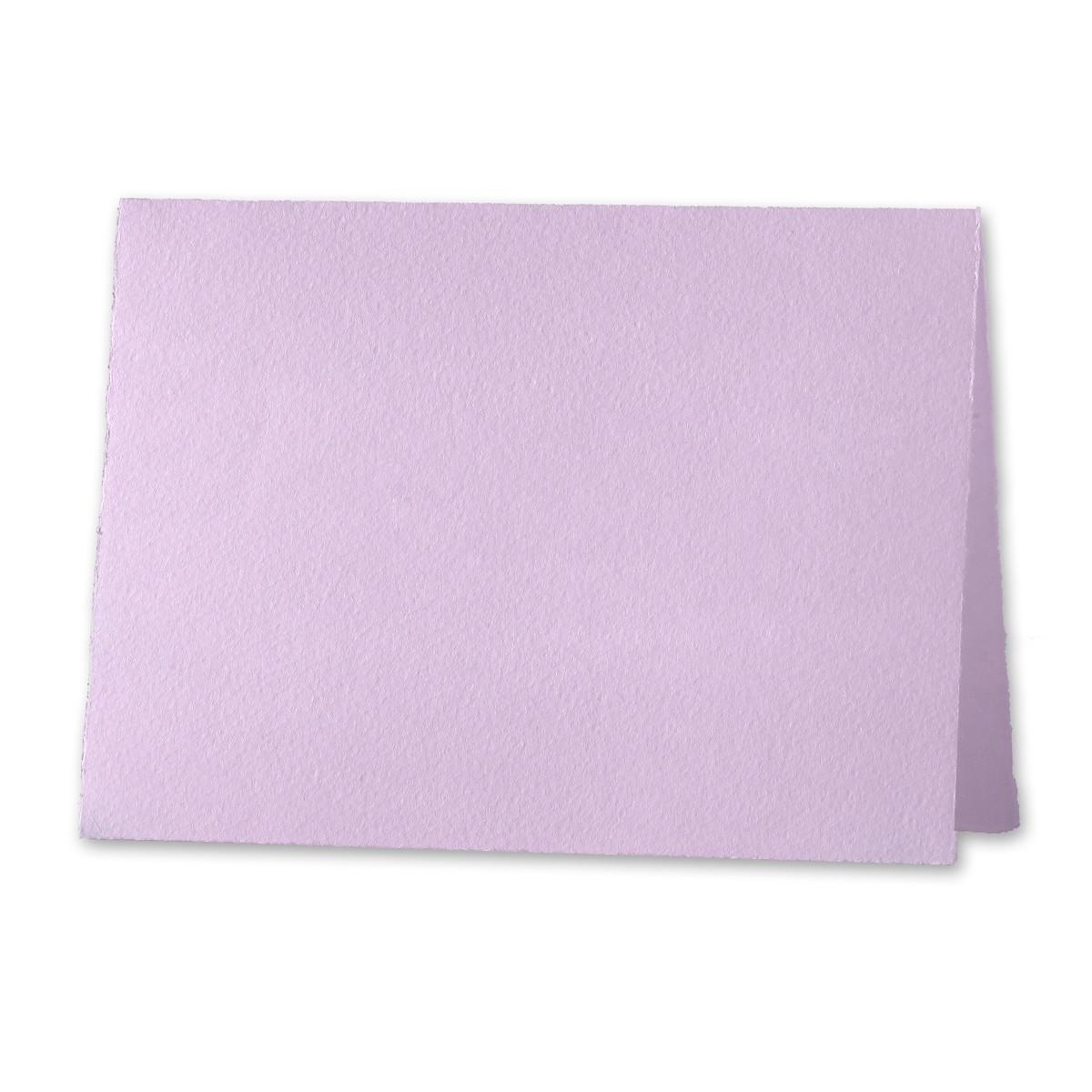 """Arturo Lavender Invitation Foldovers (600LC) 97# Cover (6.69"""" x 9.05"""" open size) Pack of 50"""
