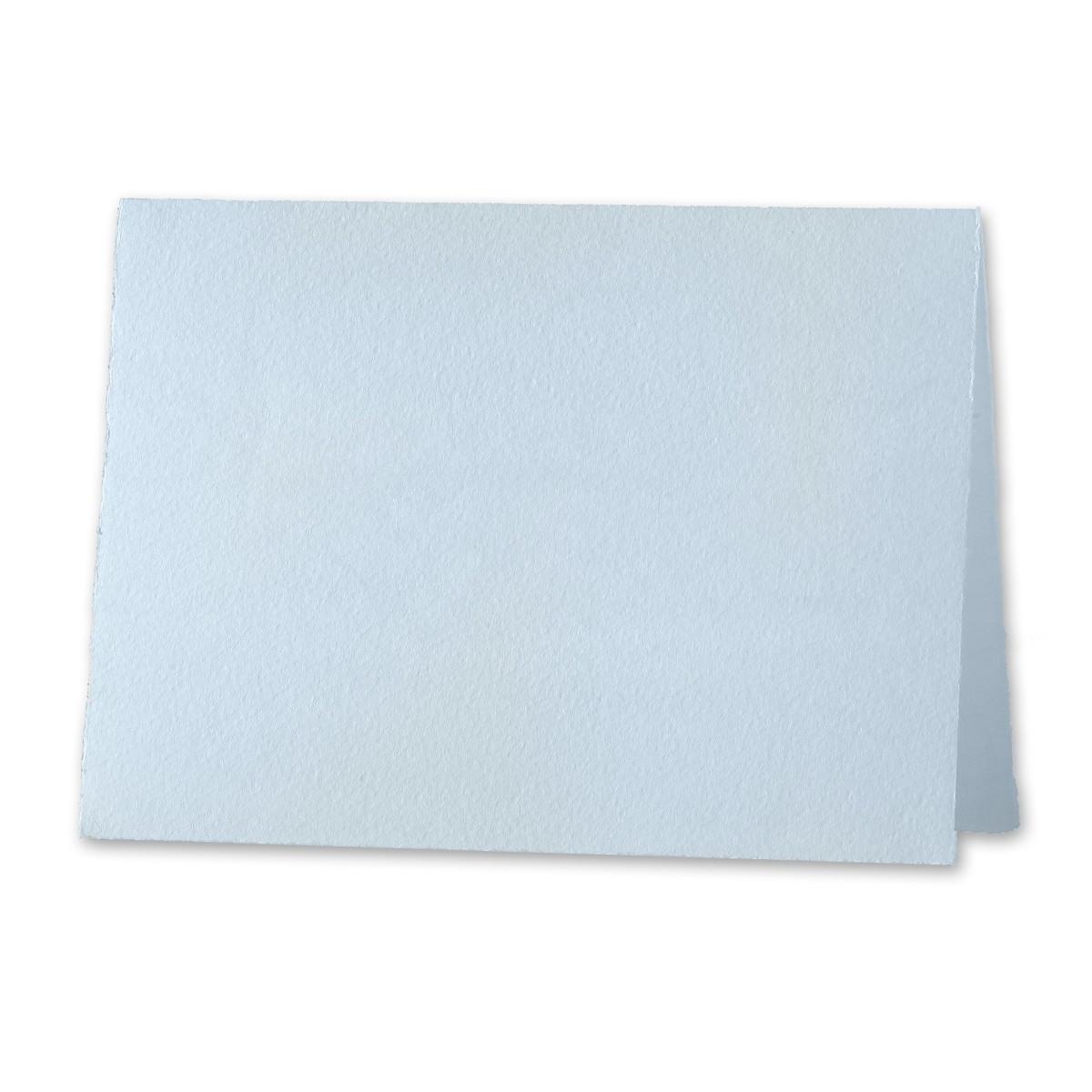 "Arturo Pale Blue Invitation Foldovers (600LC) 97# Cover (6.69"" x 9.05"" open size) Bulk Pack of 100"