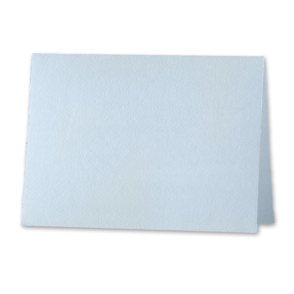 """Arturo Pale Blue Reply Card Foldovers (500LC) 97# Cover (5.12"""" x 6.7"""" open size) Bulk Pack of 100"""