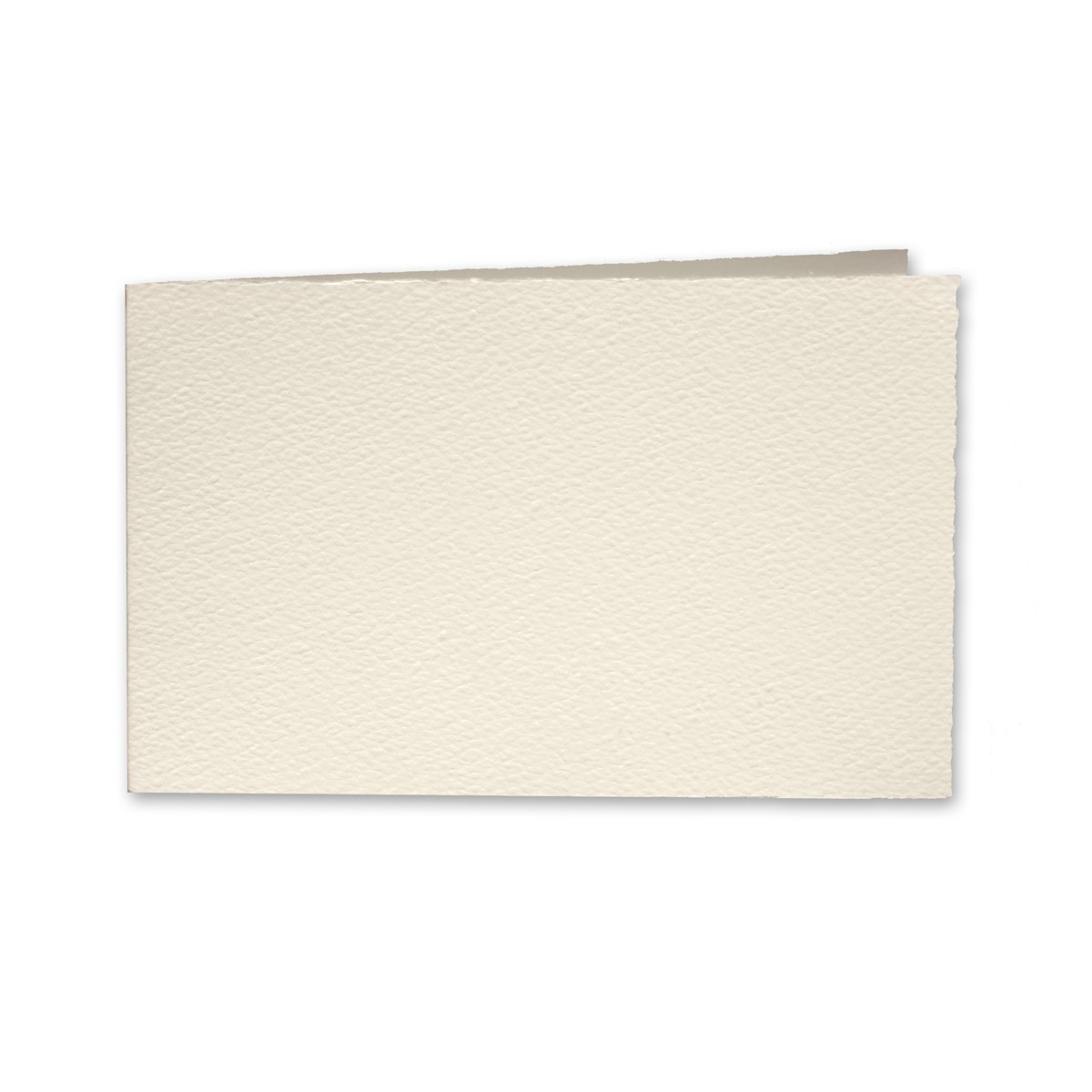 "Arturo Soft White Album Foldovers (600AC) 97# Cover (4.53"" x 13.39"" open size) Bulk Pack of 100"