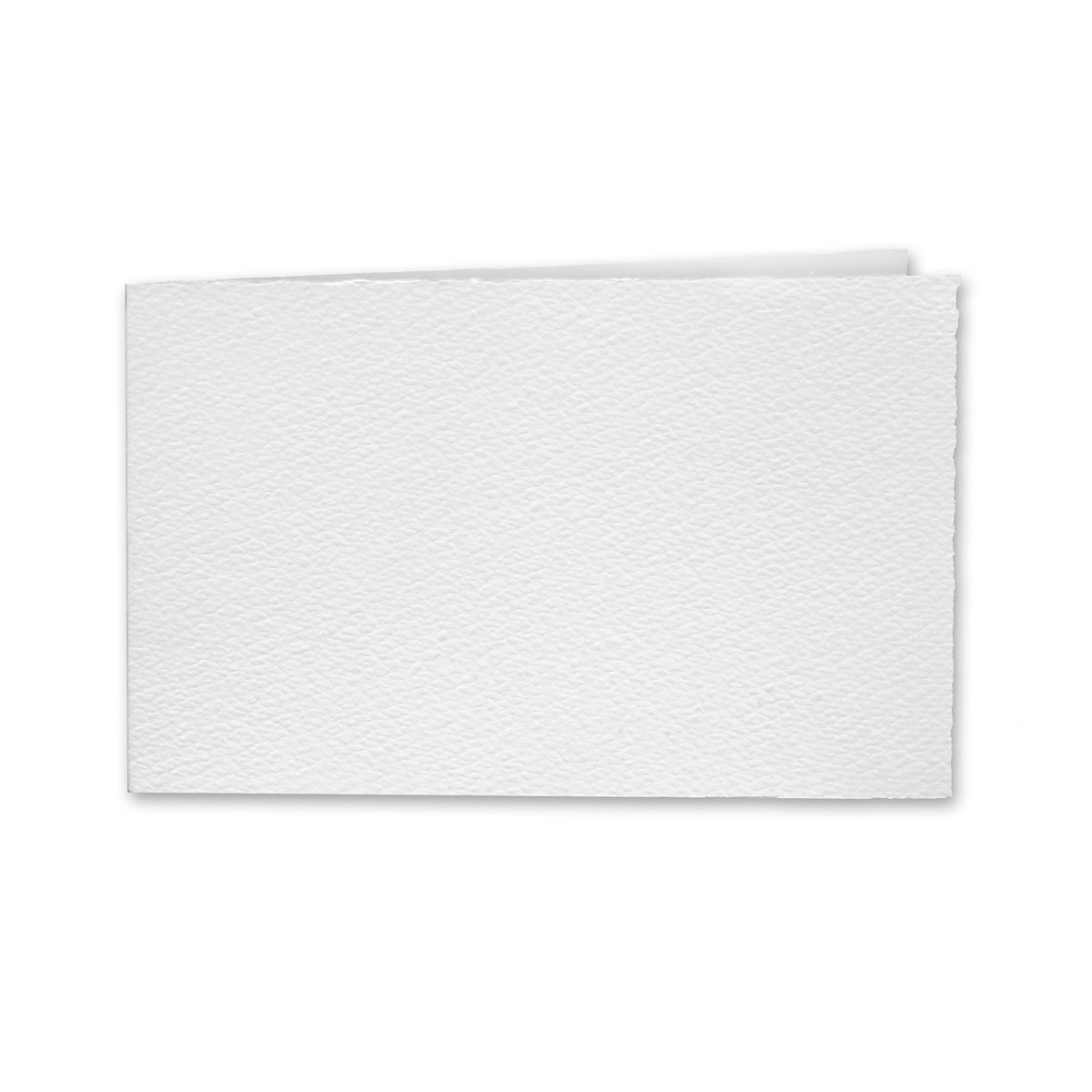 "Arturo White Album Foldovers (600AC) 97# Cover (4.53"" x 13.39"" open size) Pack of 50"
