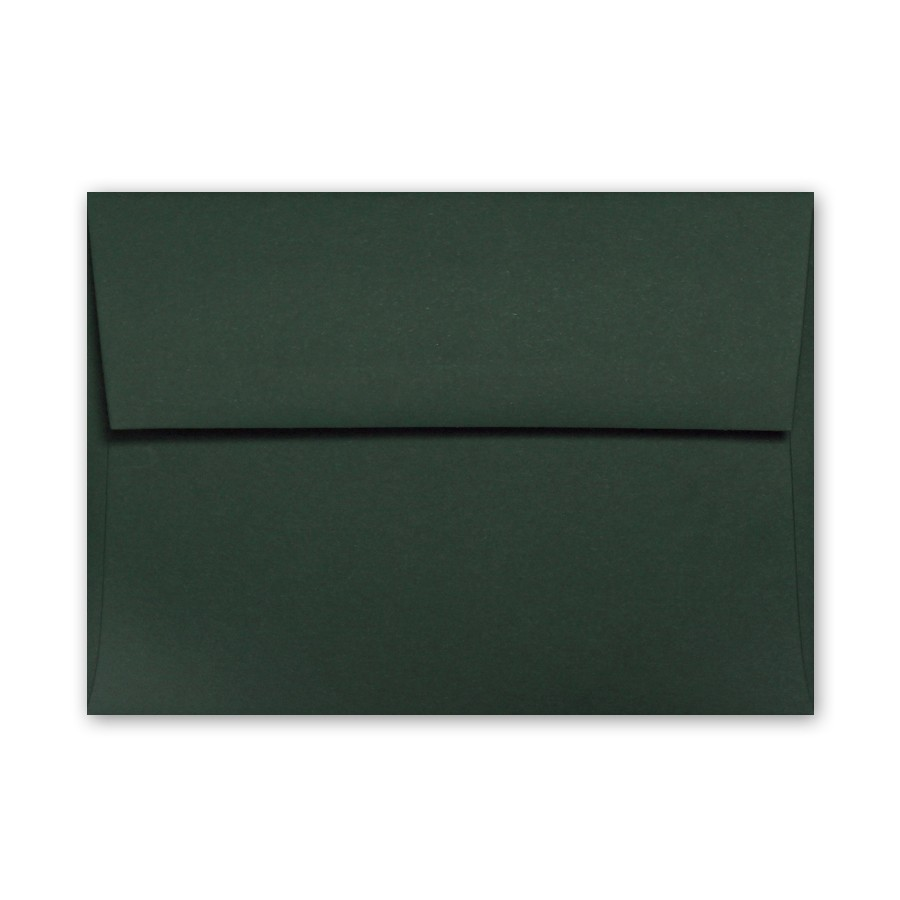 Colorplan Racing Green A6 91# Text Envelopes Pack of 50