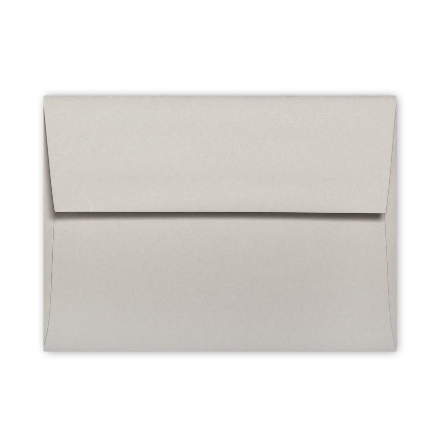 Colorplan Pale Grey A6 91# Text Envelopes Pack of 50