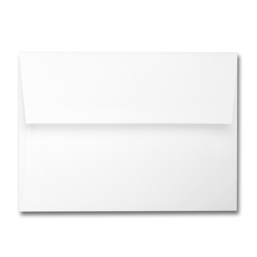 Colorplan Pristine White 91# Text A2 Envelopes Pack of 50