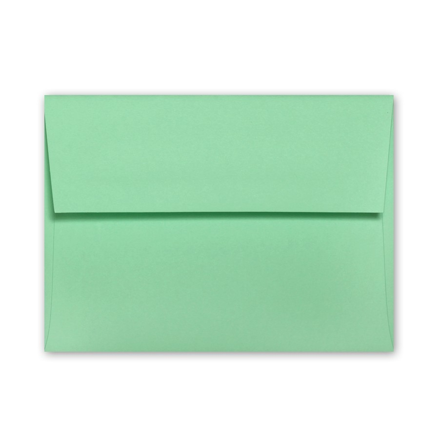 colorplan park green a7 91 text envelopes pack of 50