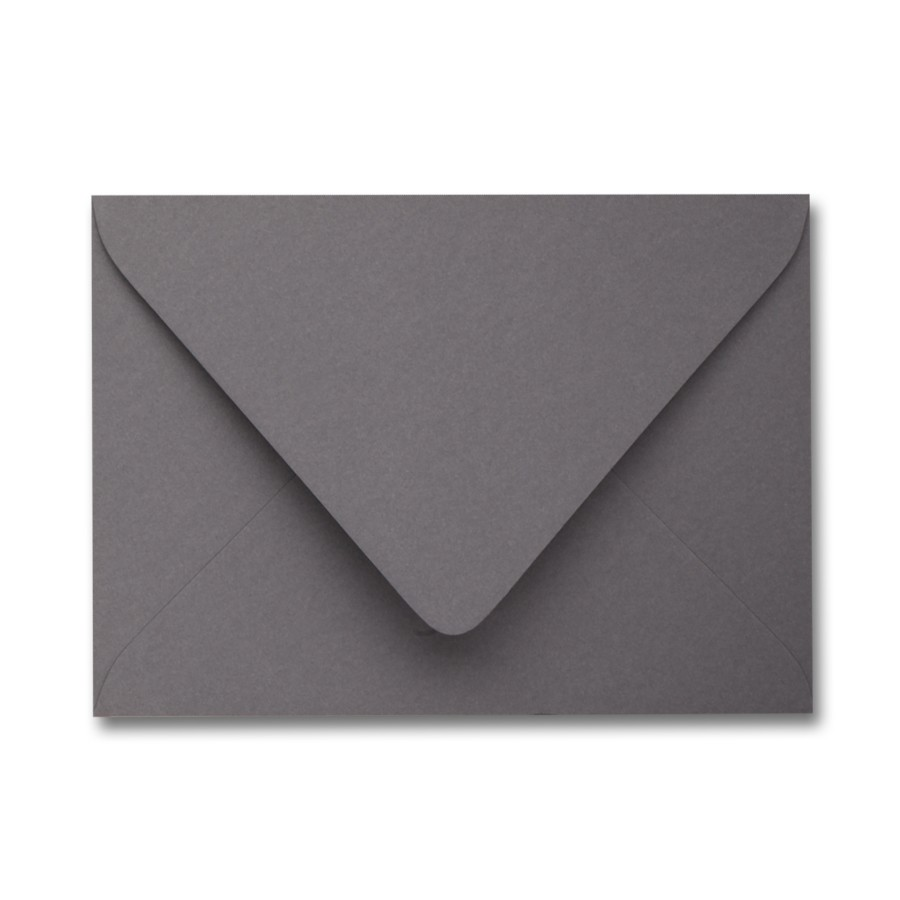 James Cropper Colorplan Smoke A9 Euro Flap Envelope