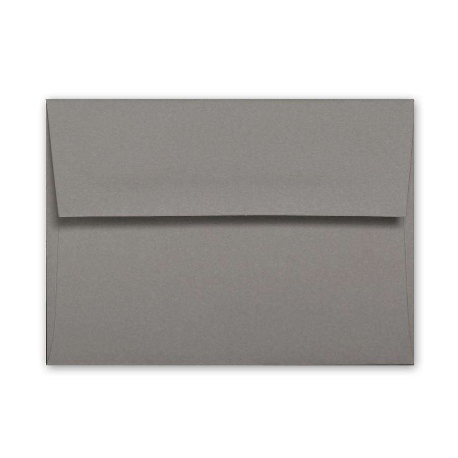 Colorplan Smoke A7 91# Text Envelopes Bulk Pack of 250