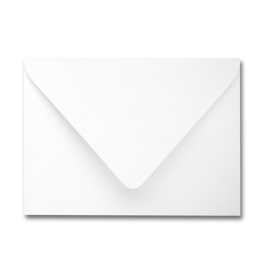 James Cropper Colorplan Ice White A7 Euro Flap Envelope