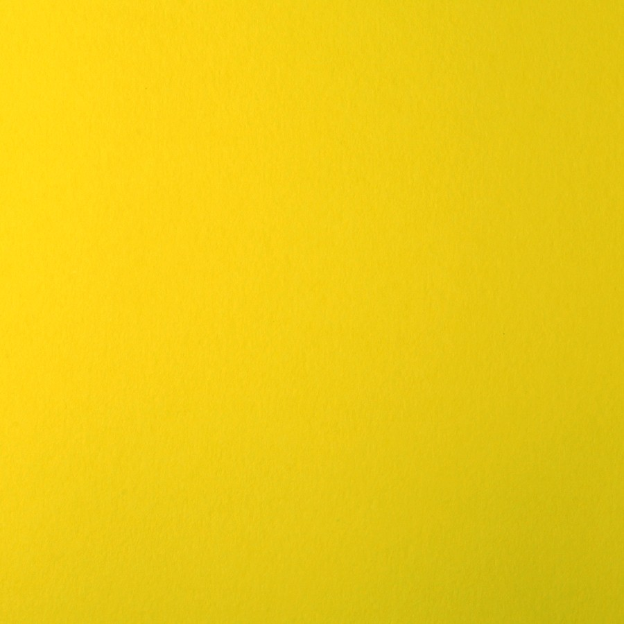 James Cropper Colorplan Factory Yellow 12 x 12 130# Cover Sheets