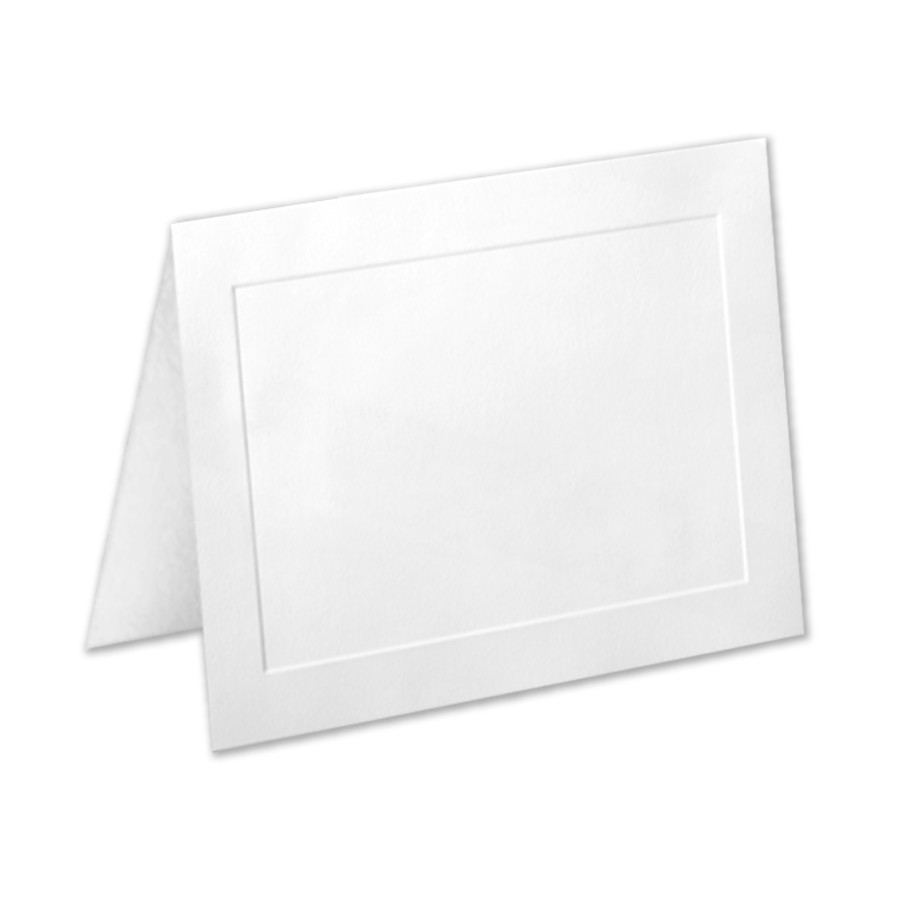 Neenah Classic Crest Avon Brilliant White A7 Panel Folder
