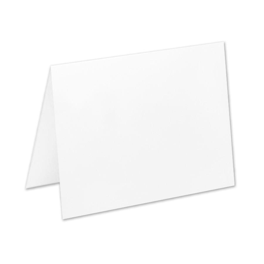Neenah Classic Crest Avon Brilliant White A2 No Panel Folder