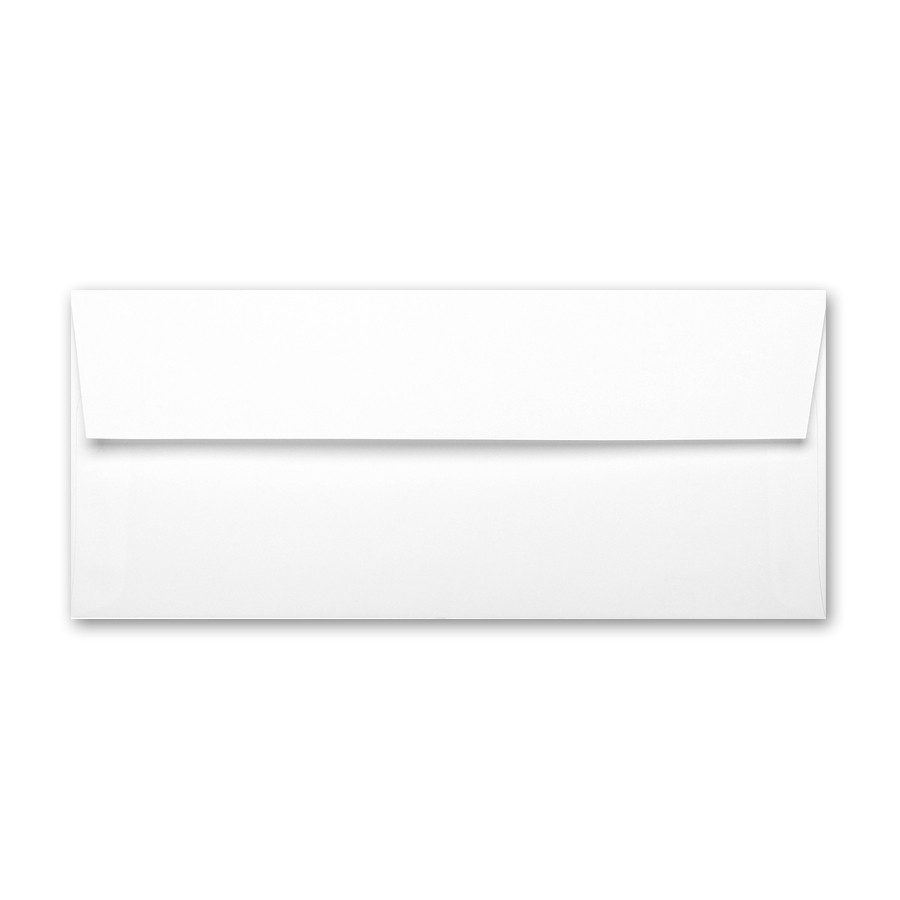 Neenah Classic Crest Avon Brilliant White #10 Square Flap Envelope