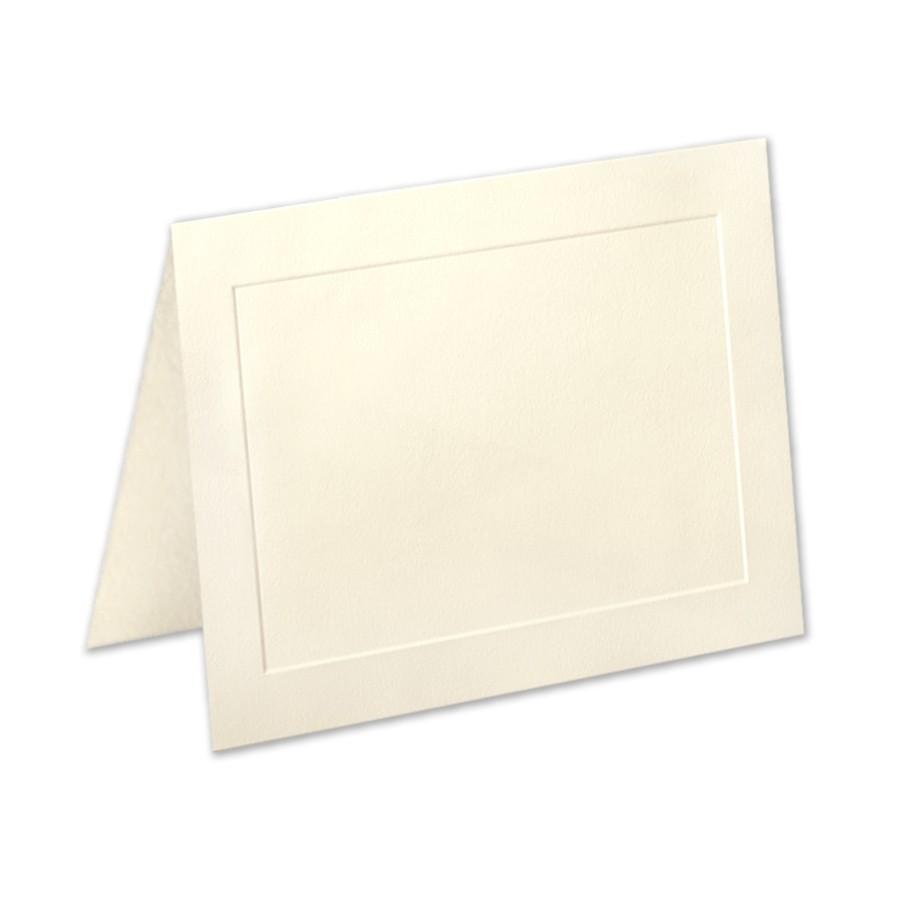 Neenah Classic Crest Baronial Ivory A2 Panel Folder