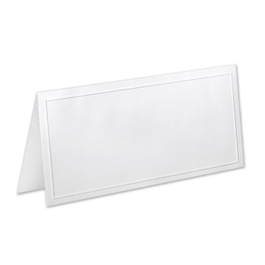 Neenah Classic Crest Solar White #10 Hartford Border Folder