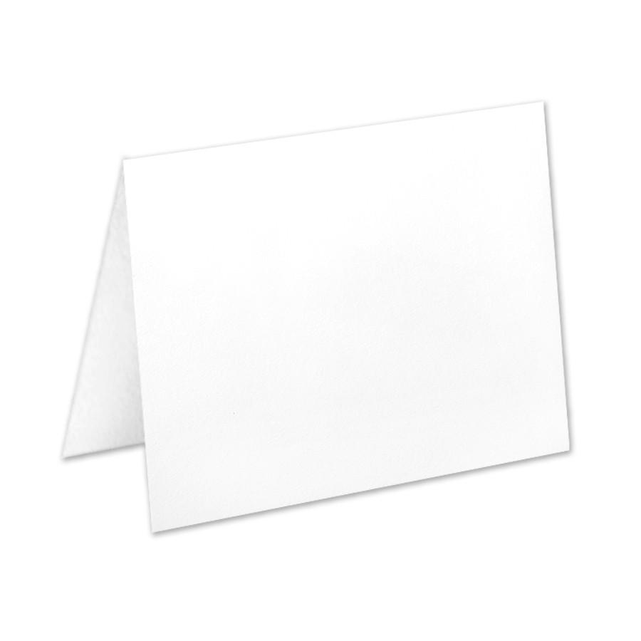 Neenah Classic Crest Solar White A8 No Panel Folder