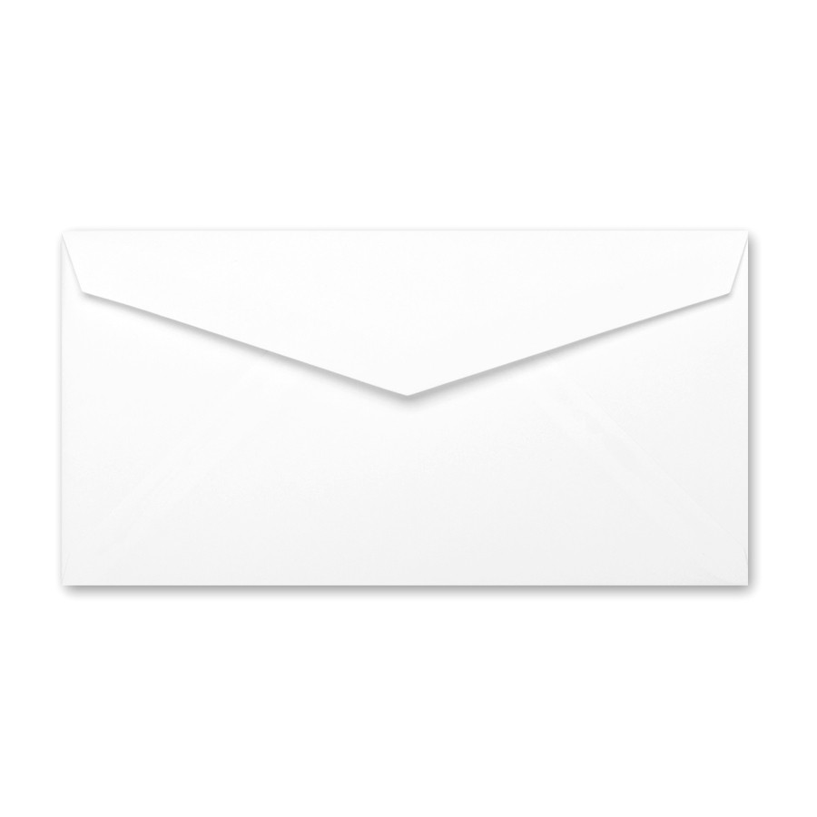Neenah Classic Crest Solar White Monarch Envelope