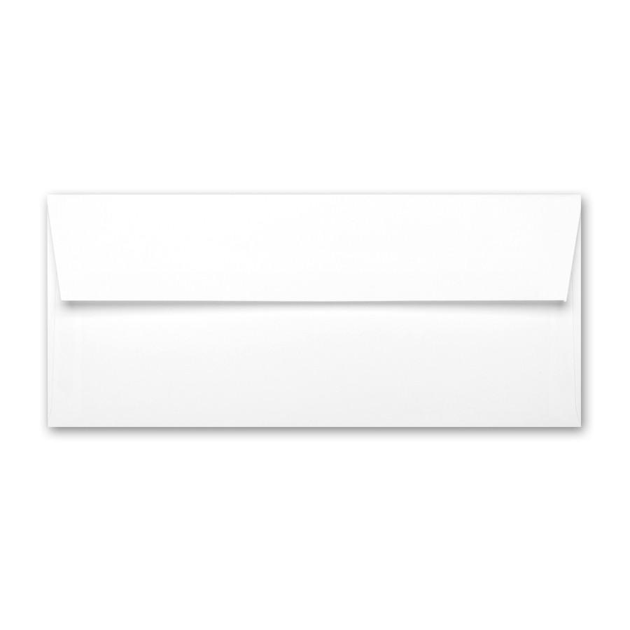 Neenah Classic Crest Solar White #10 Square Flap Envelope