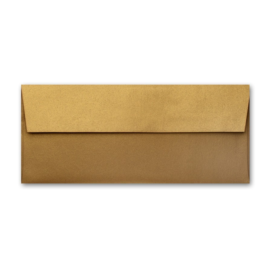 Gruppo Cordenons Stardream Antique Gold #10 Square Flap Envelope