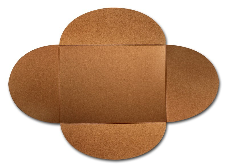 Gruppo Cordenons Stardream Copper A7 105# Cover Rounded Flap Pouchettes