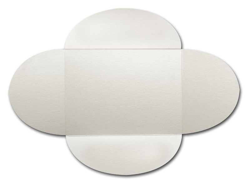 Gruppo Cordenons Stardream Opal A8 105# Cover Rounded Flap Pouchettes