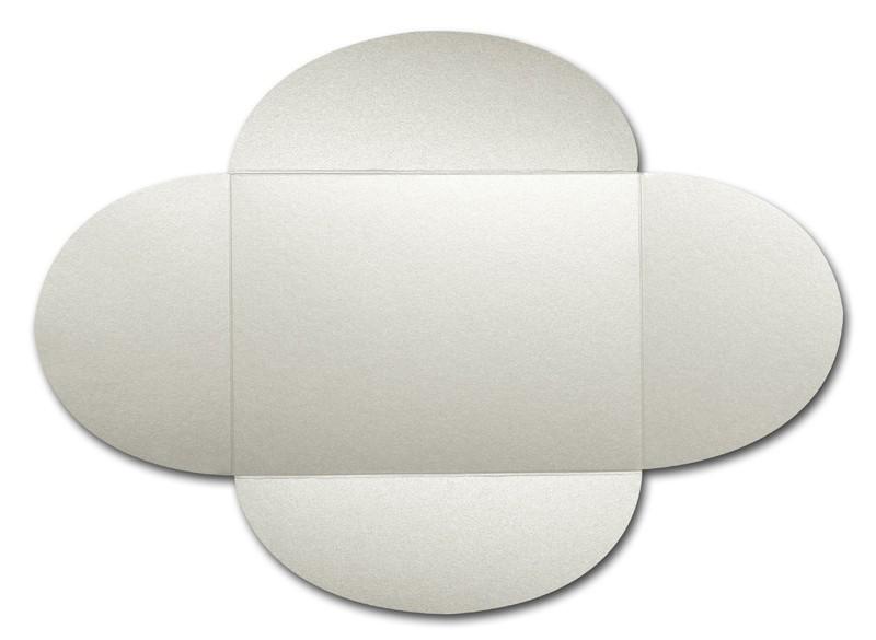 Gruppo Cordenons Stardream Quartz A8 105# Cover Rounded Flap Pouchettes