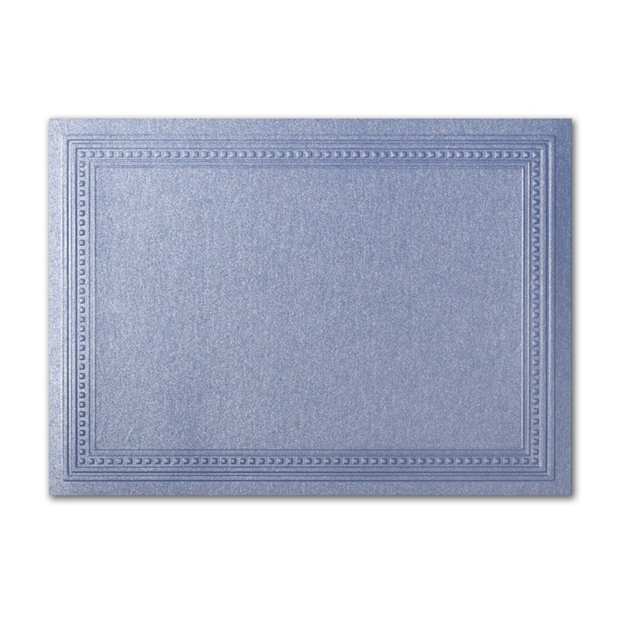 Gruppo Cordenons Stardream Vista A2 Imperial Embossed Border Card