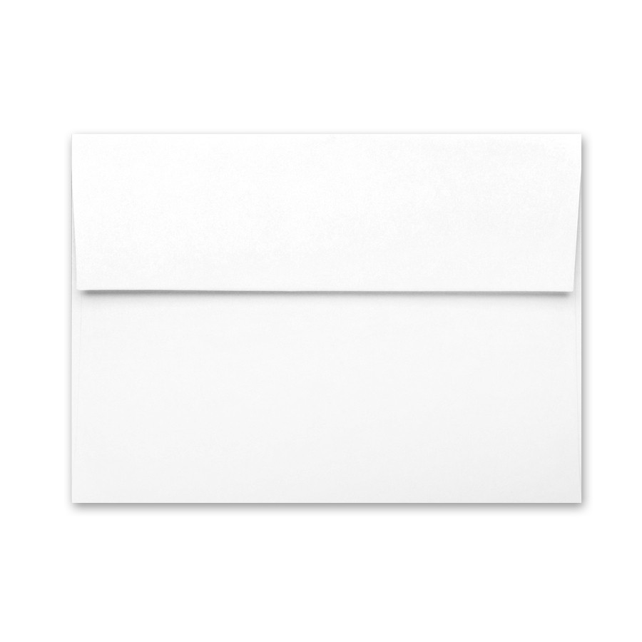 A6 Envelopes Converted With Wild White 101# Text Pack of 50