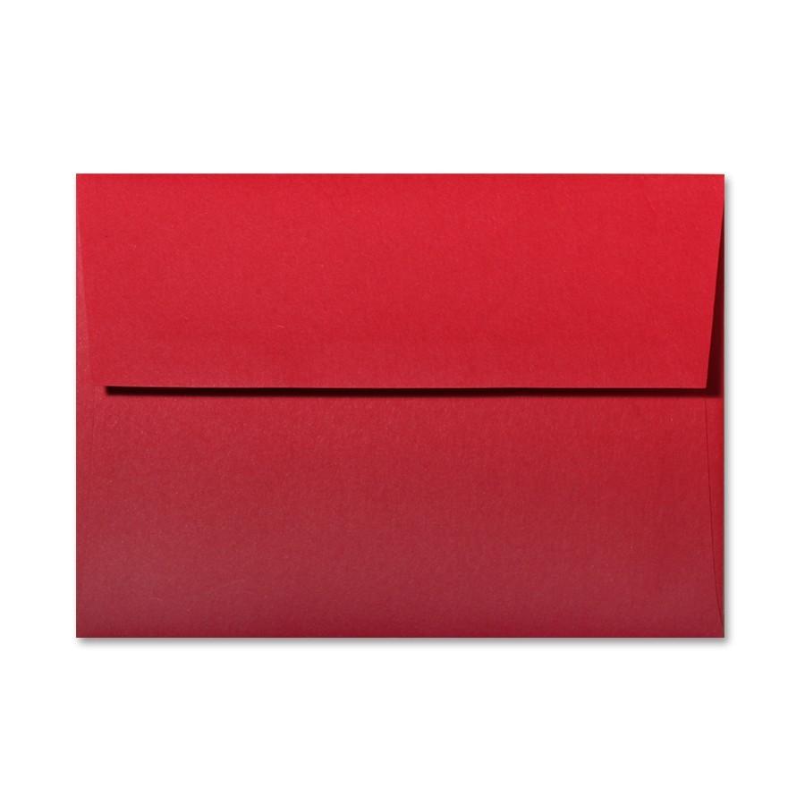 Gruppo Cordenons So?Wool Red Tartan A6 Envelope