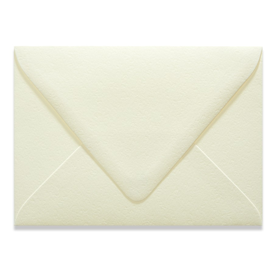 A2 Euro Flap 60# Cover Canaletto Bianco Envelopes Pack of 50