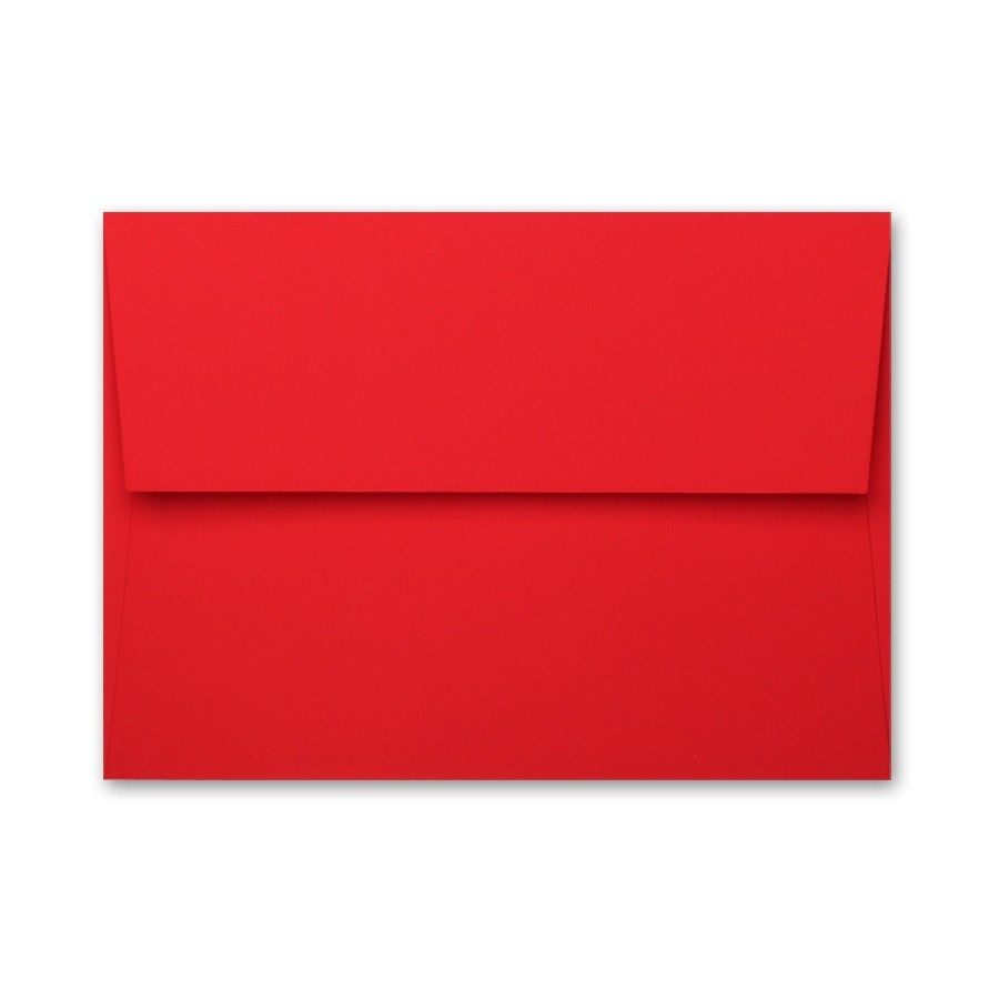Gruppo Cordenons Plike Red A7 Envelope
