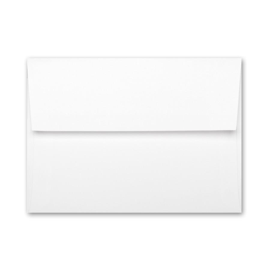 Neenah Classic Linen Avon Brilliant White A8 Envelope