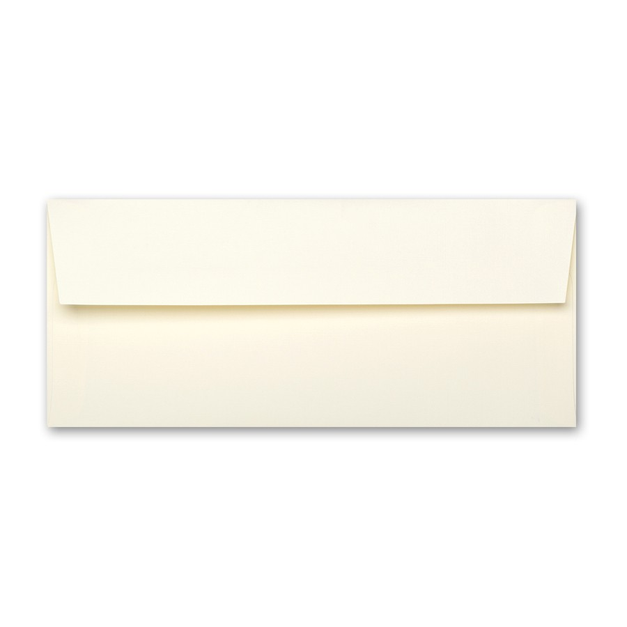 Neenah Classic Linen Baronial Ivory #10 Square Flap Envelope
