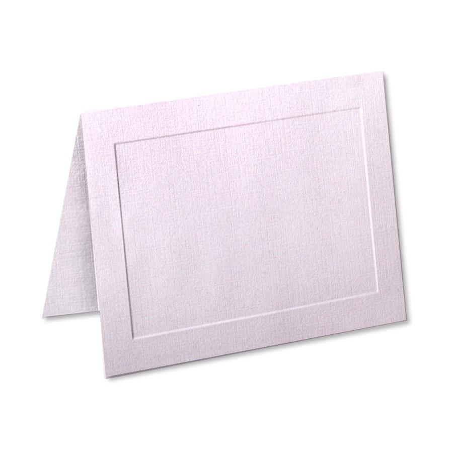 Neenah Classic Linen Cranberry Ice A6 Panel Folder