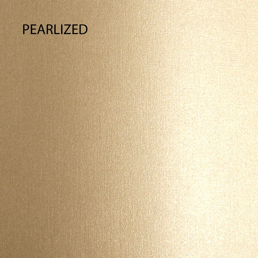 Neenah Classic Linen Gold Pearl 8.5 x 11 84# Cover Sheets