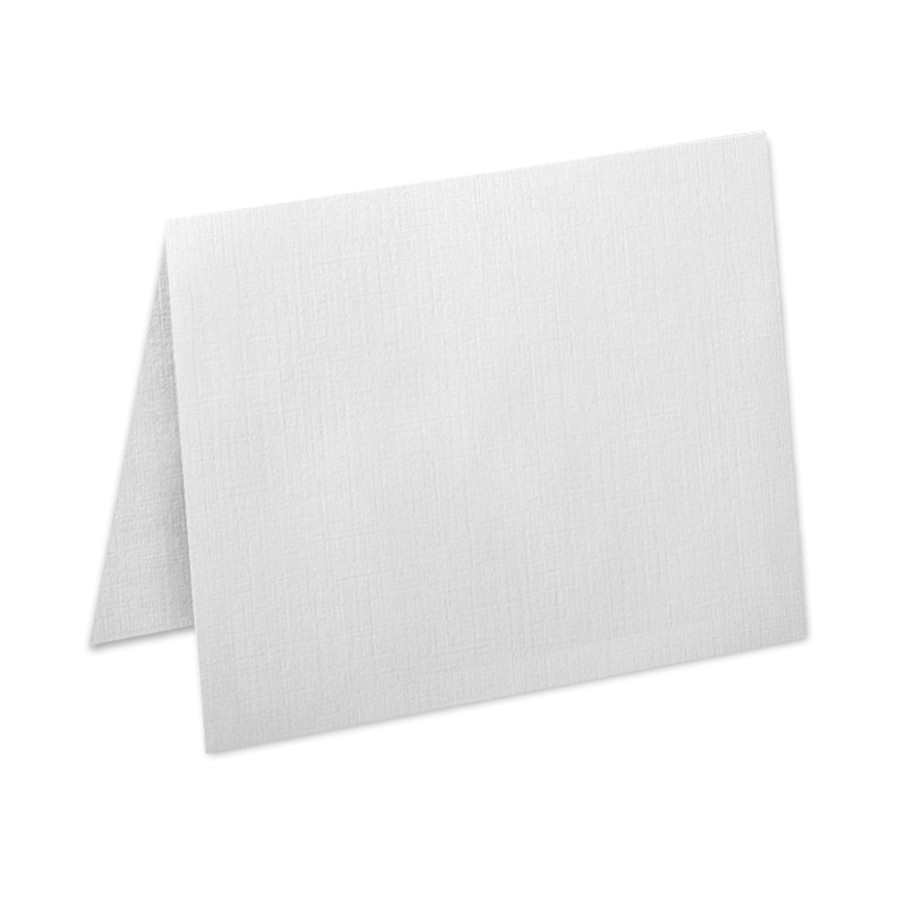 Neenah Classic Linen Antique Gray A6 No Panel Folder
