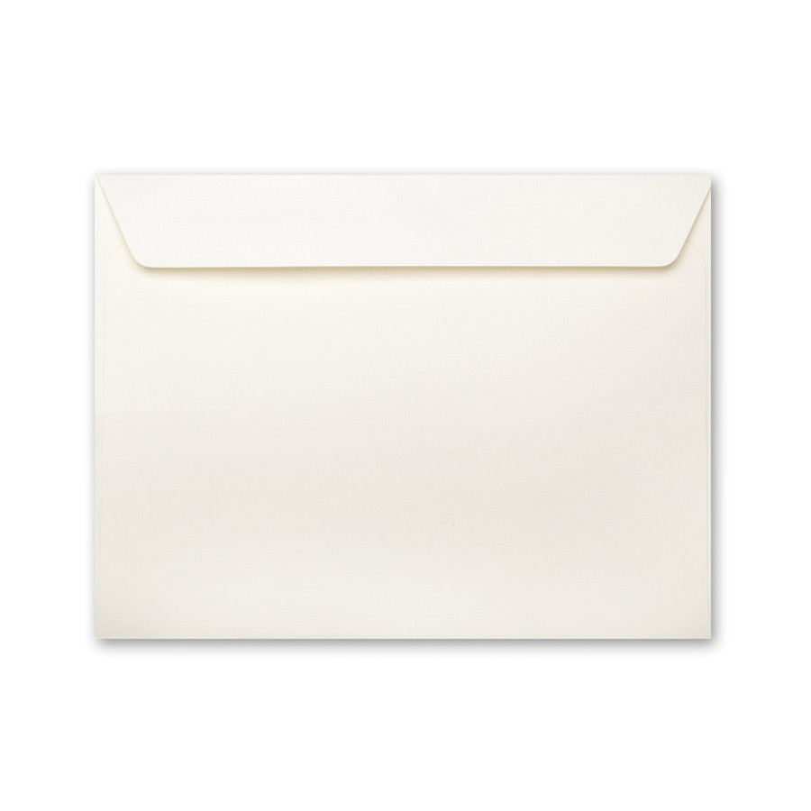 Neenah Classic Linen Classic Natural White 9 x 12 Booklet Envelope