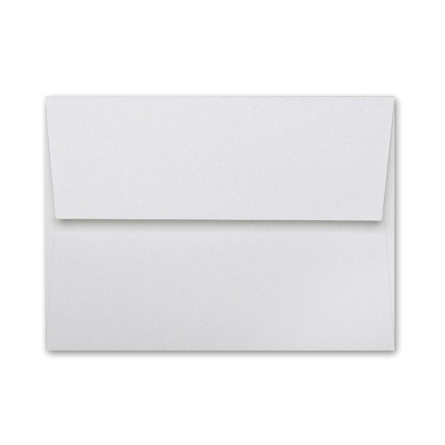 Neenah Classic Linen Whitestone A1 (4 Bar Square Flap) Envelope