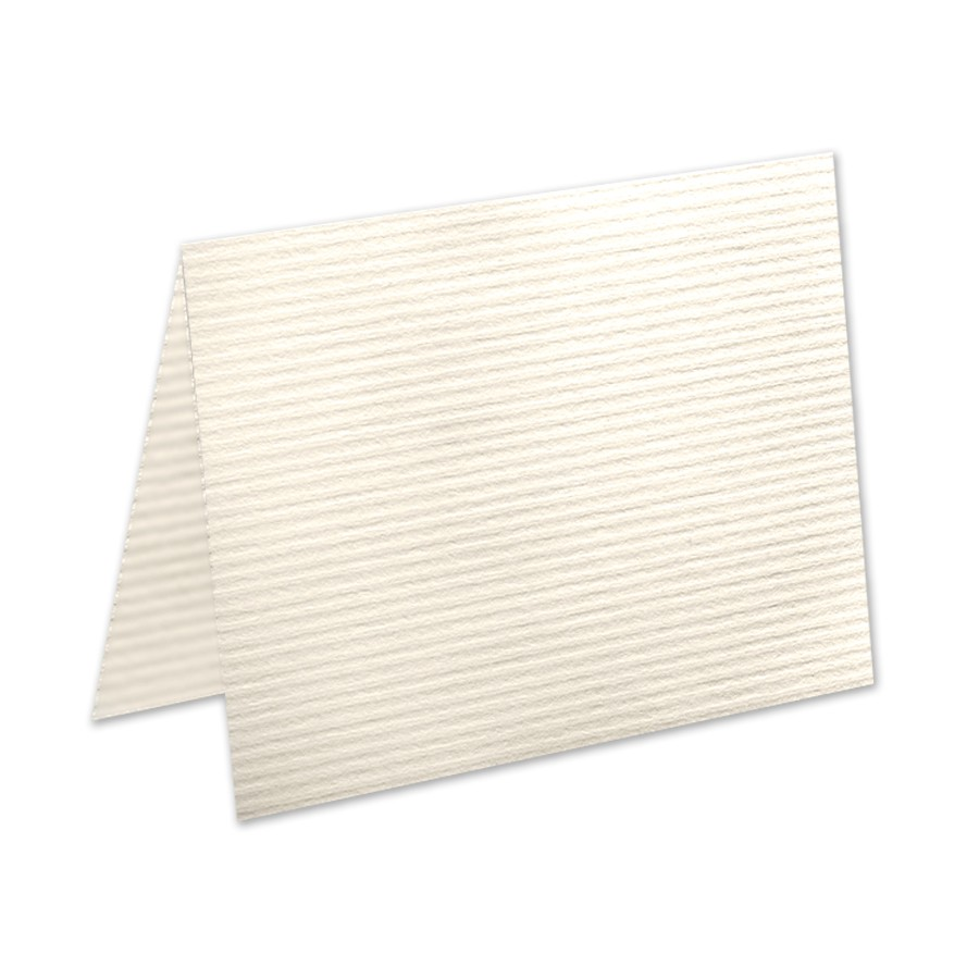 Neenah Classic Columns Recycled Natural White A7 No Panel Folder