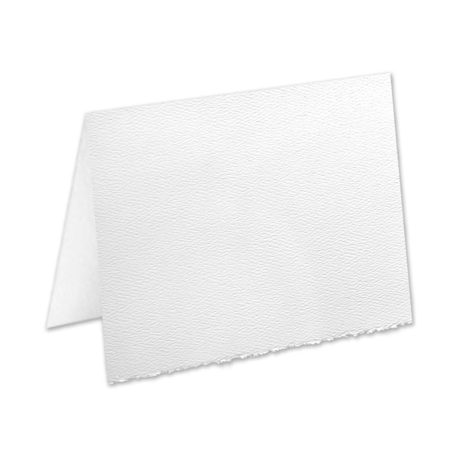 Mohawk Strathmore Premium Pastelle (formerly Strathmore Pastelle) Bright White A6 No Panel Folder