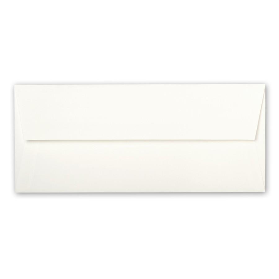 AVEO White Sugar #10 Square Flap 80# Text Envelopes