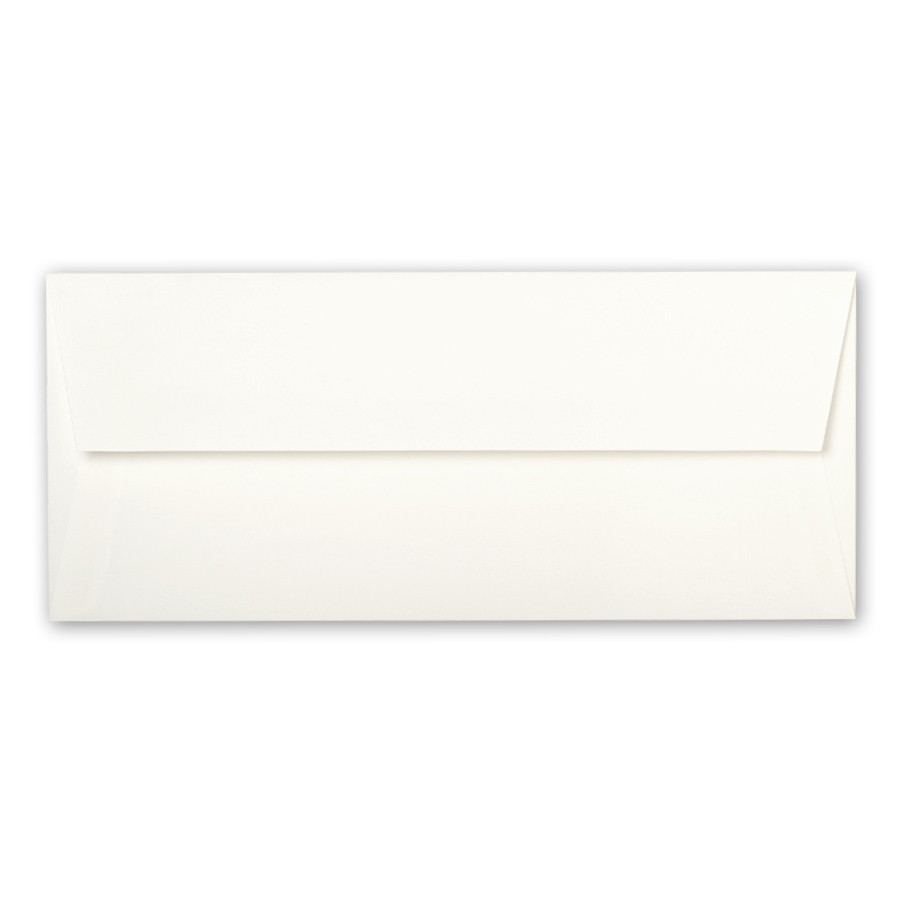 Strathmore Premium Wove Ultimate White #10 Square Flap Envelopes box of 500