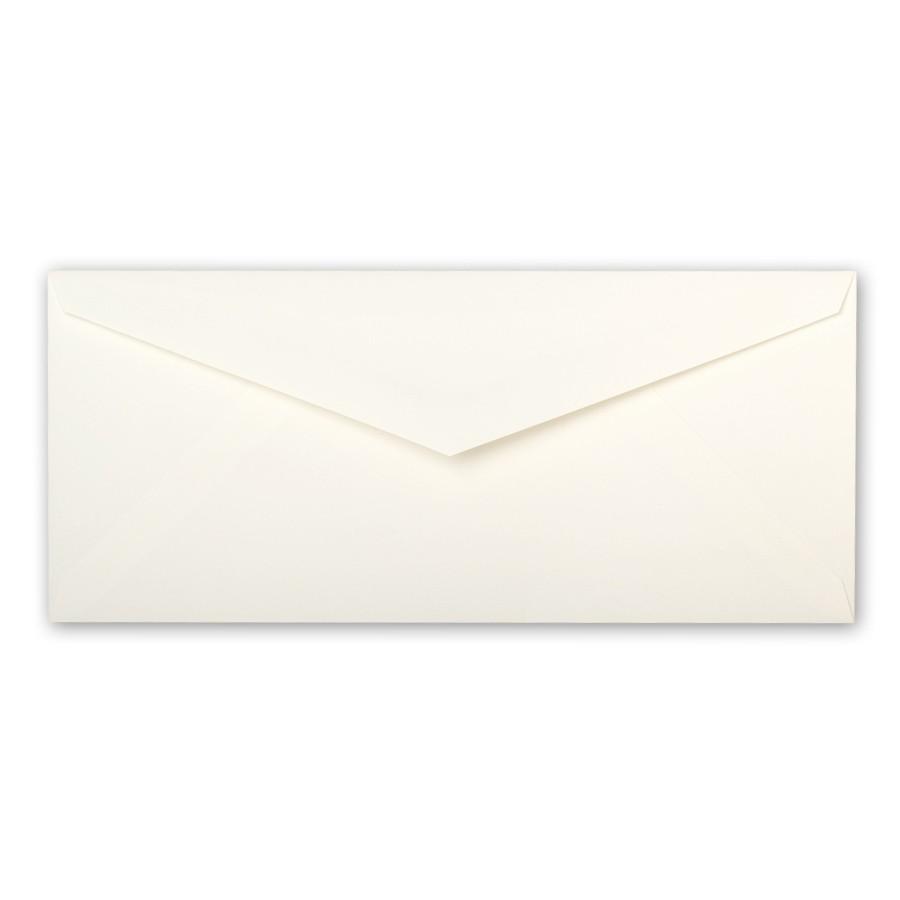 Crane's Paper Crane's Crest Pearl White Monarch Envelope