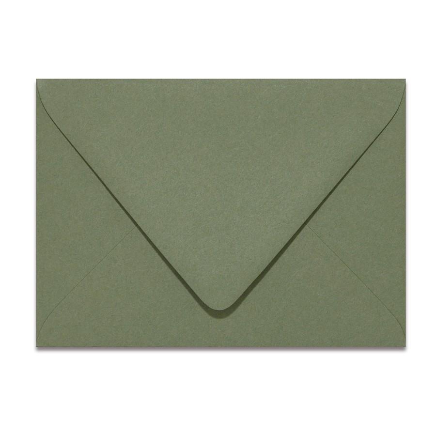 A6 Euro Flap 80# Text Mohawk Renewal Hemp Flower Rough Finish Envelopes Pack of 50