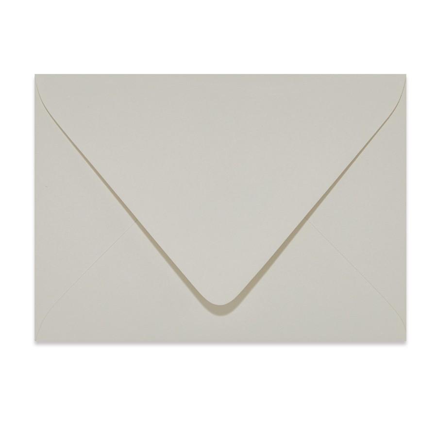 A7.5 Outer Euro Flap 32# Writing Crane's Lettra Light Gray Envelopes Bulk Pack of 250