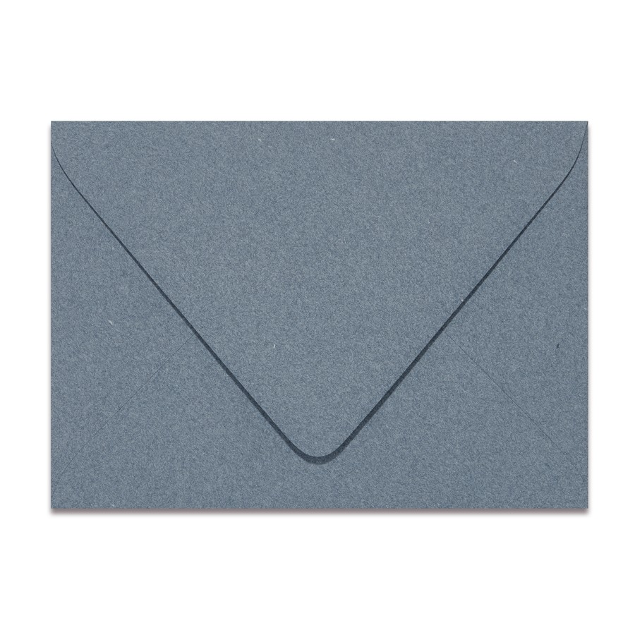 A2 Euro Flap 80# Text Mohawk Renewal Recycled Cotton Denim Envelopes Pack of 50
